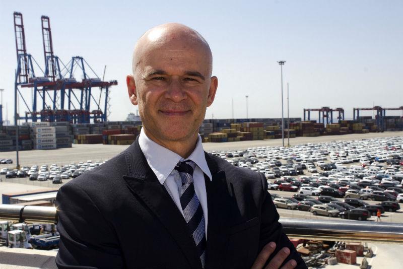 Óscar Magdalena, director of Noatum Terminal Castellón