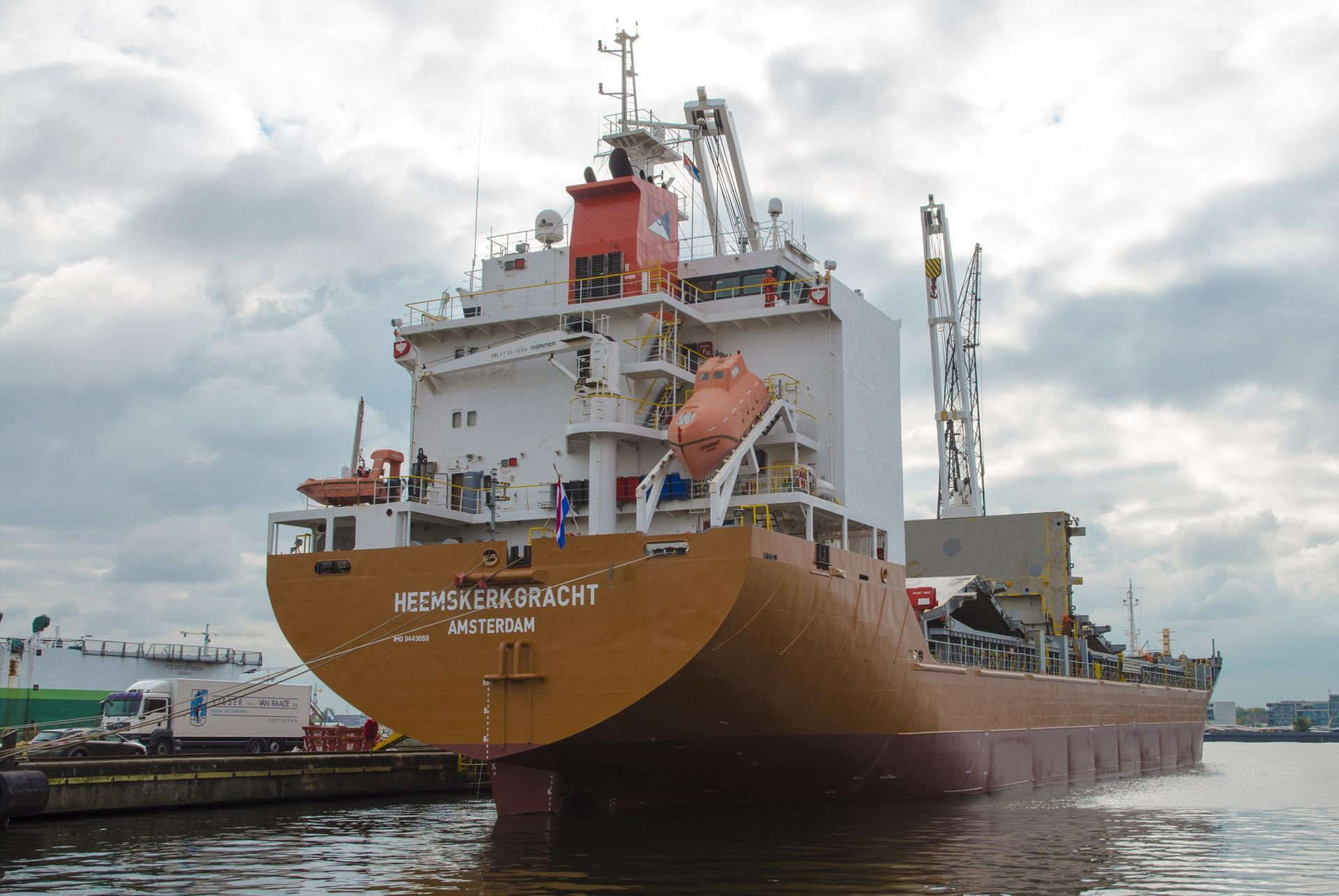 Spliethoff has operated a H-Type sister vessel - Heemskerkgracht - since 2016.