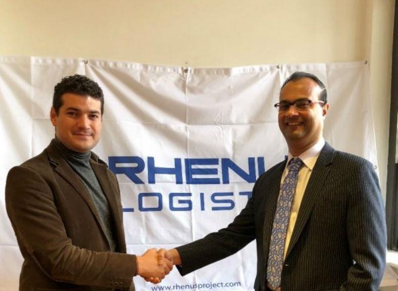 Logistics Plus global projects director Bahadir Erdil signed the agreement at the Rhenus Project Logistics US headquarters in New York.