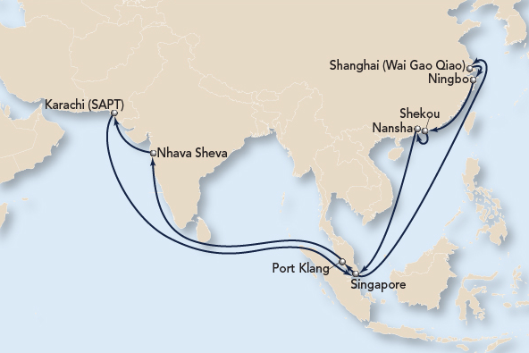 Asia Subcontinent Express 6 (AS6)