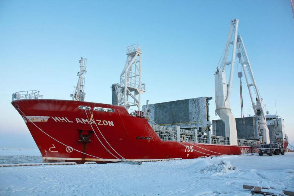 Hansa Heavy Lift (HHL) completed two safe voyages along the western boundary of the Northern Sea Route (NSR) to deliver a 365-tonne heat exchanger from Fairless Hills, USA, and power generation equipment from Italy to Sabetta, Russia.