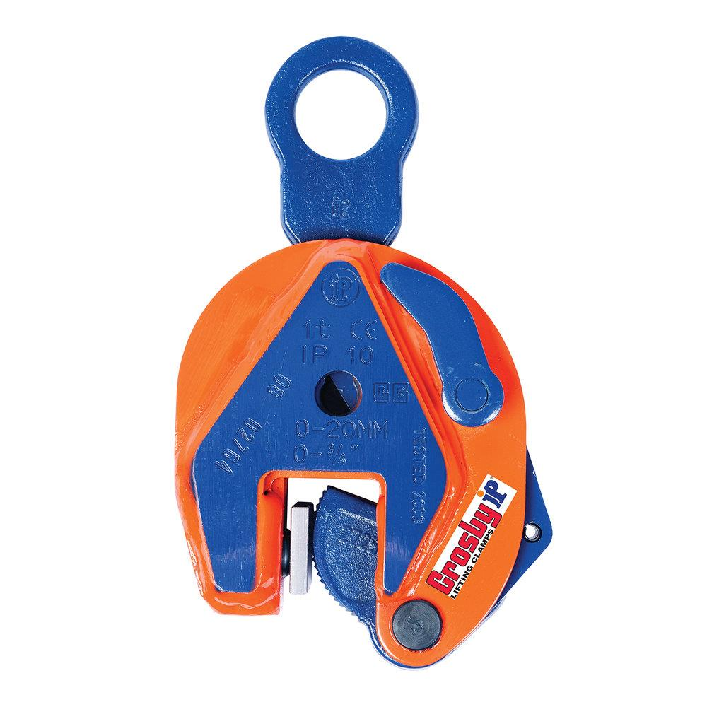 A Crosby IP vertical lifting clamp