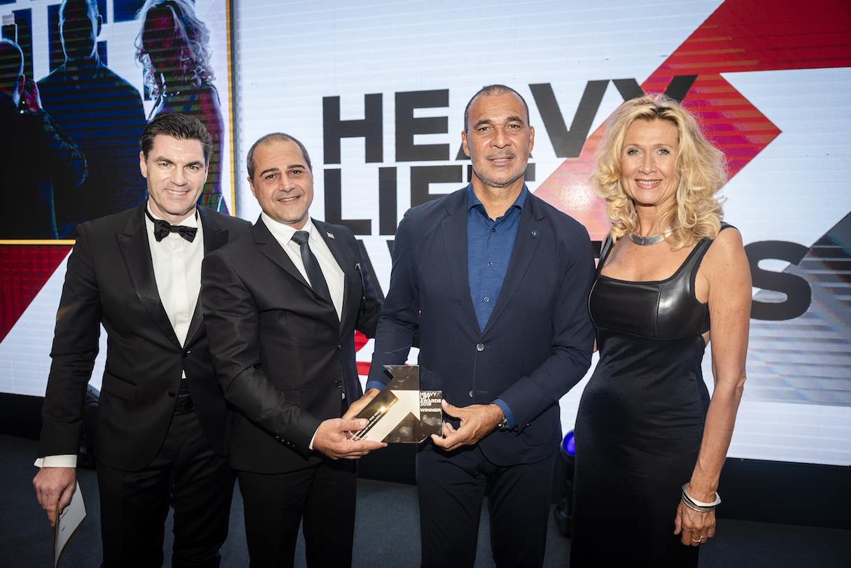 Kyriacos Panayides, managing director at AAL, received the first Shipping Line of the Year award at the ceremony in Antwerp.