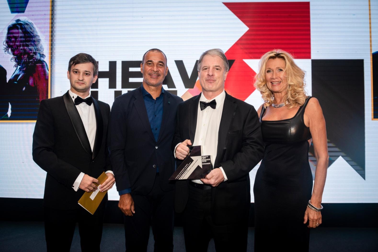 HLPFIwas proud to present Steve Drugan, senior vice president of deugro group, with our Lifetime Achievement Award.