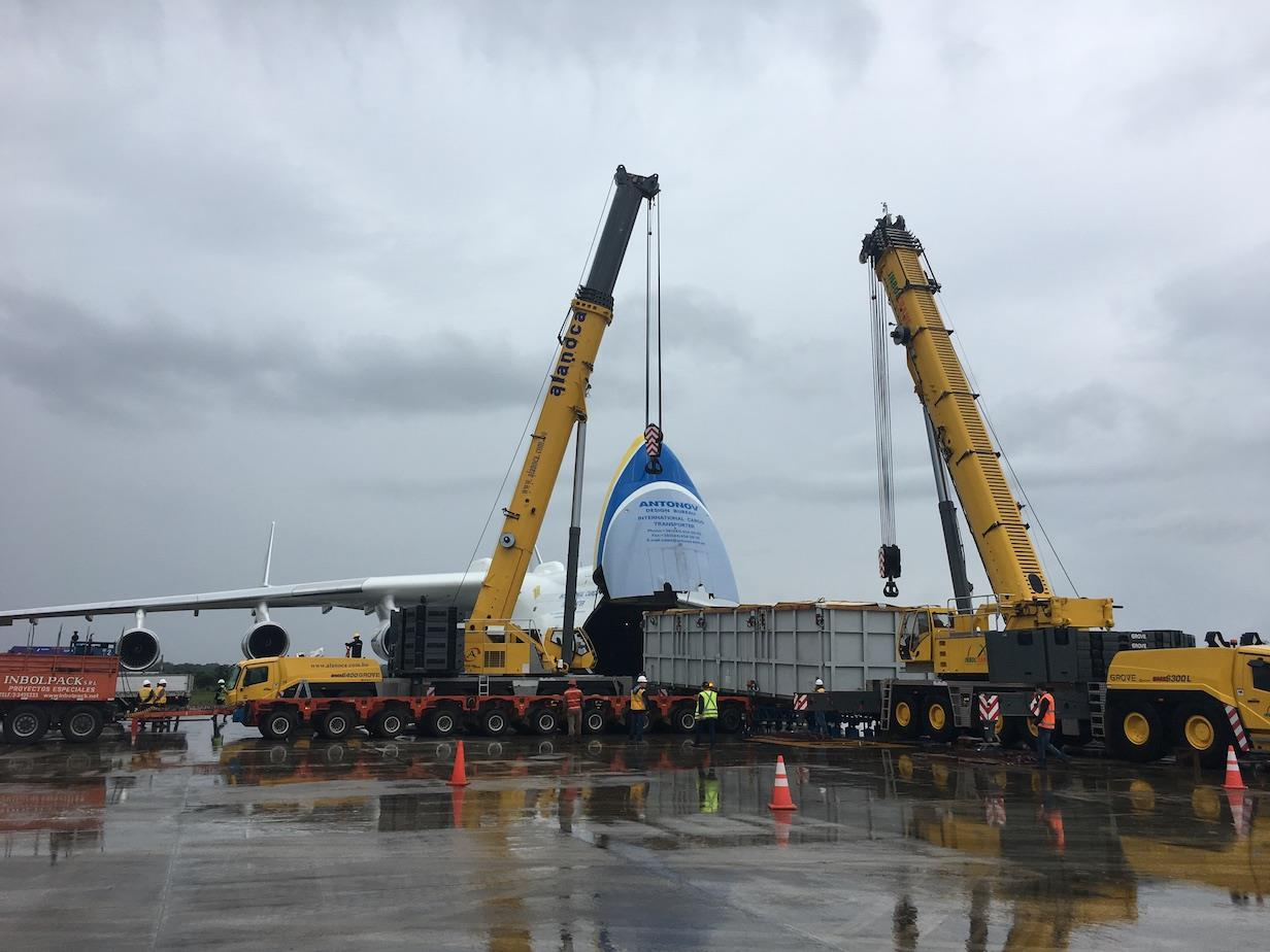 Hansa Meyer won the Airfreight Solution of the Year Award for its involvement in a project to deliver 12 oversize modules from Chile to Bolivia using the AN-225 aircraft.