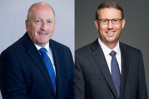 Mike Jarrett (left) and Leo Kirchner.