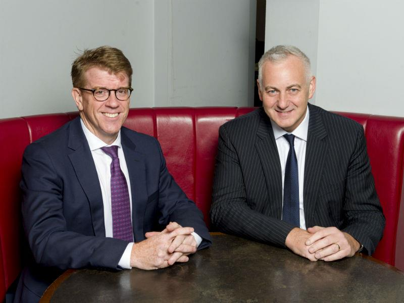 Paul England, managing partner of BDO and Simon Gallagher, former managing partner at Moore Stephens.