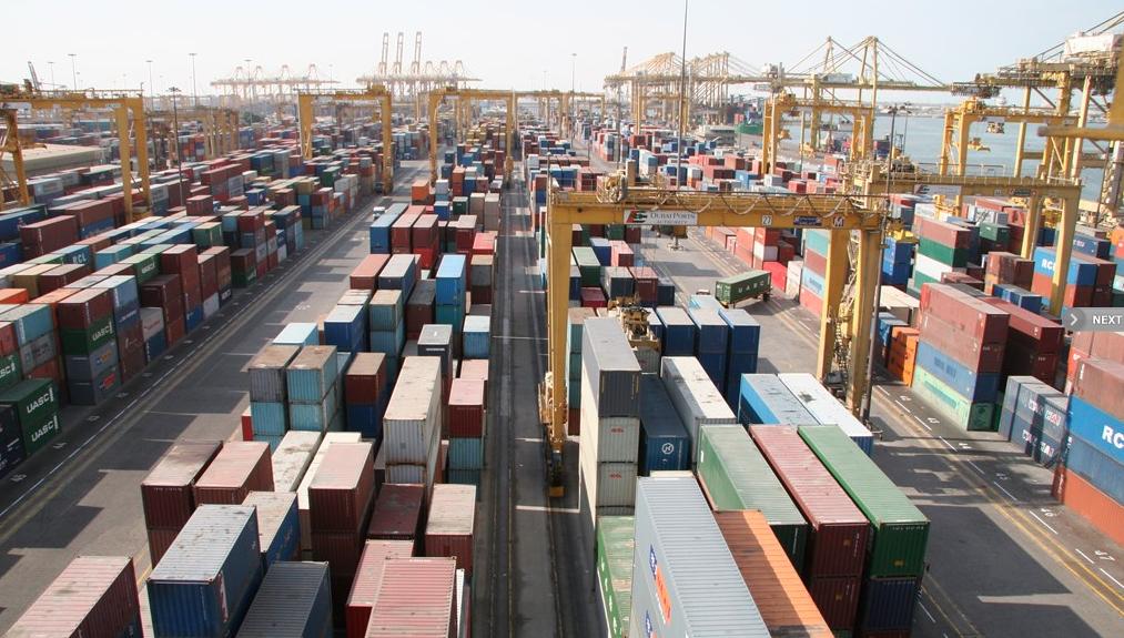 Photo credit: DP World - Jebel Ali Port