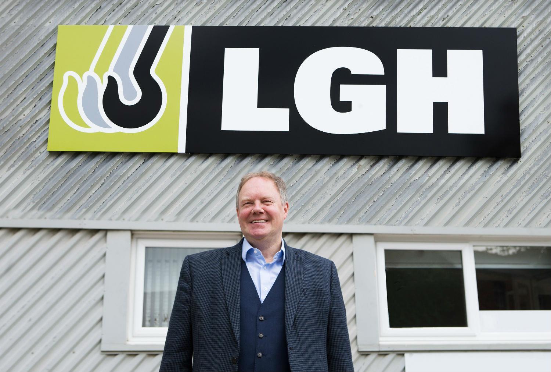 LGH group chairman Ian Parkinson.