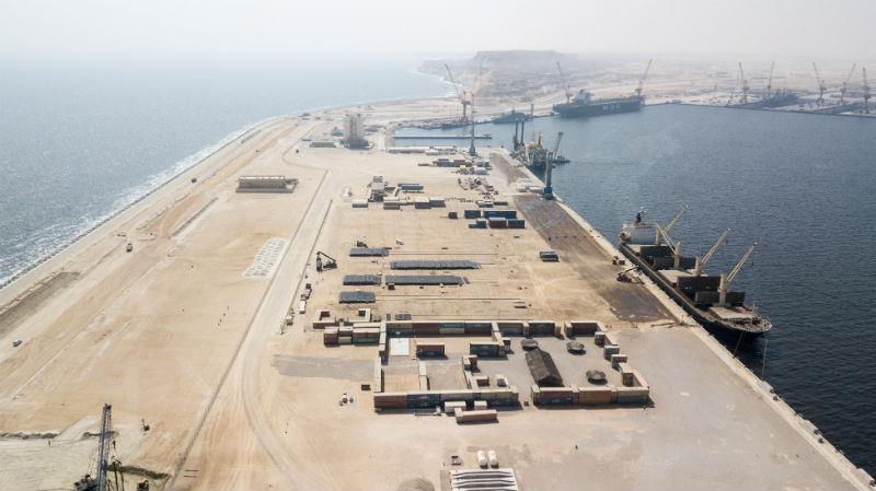 Photo credit: port of Duqm