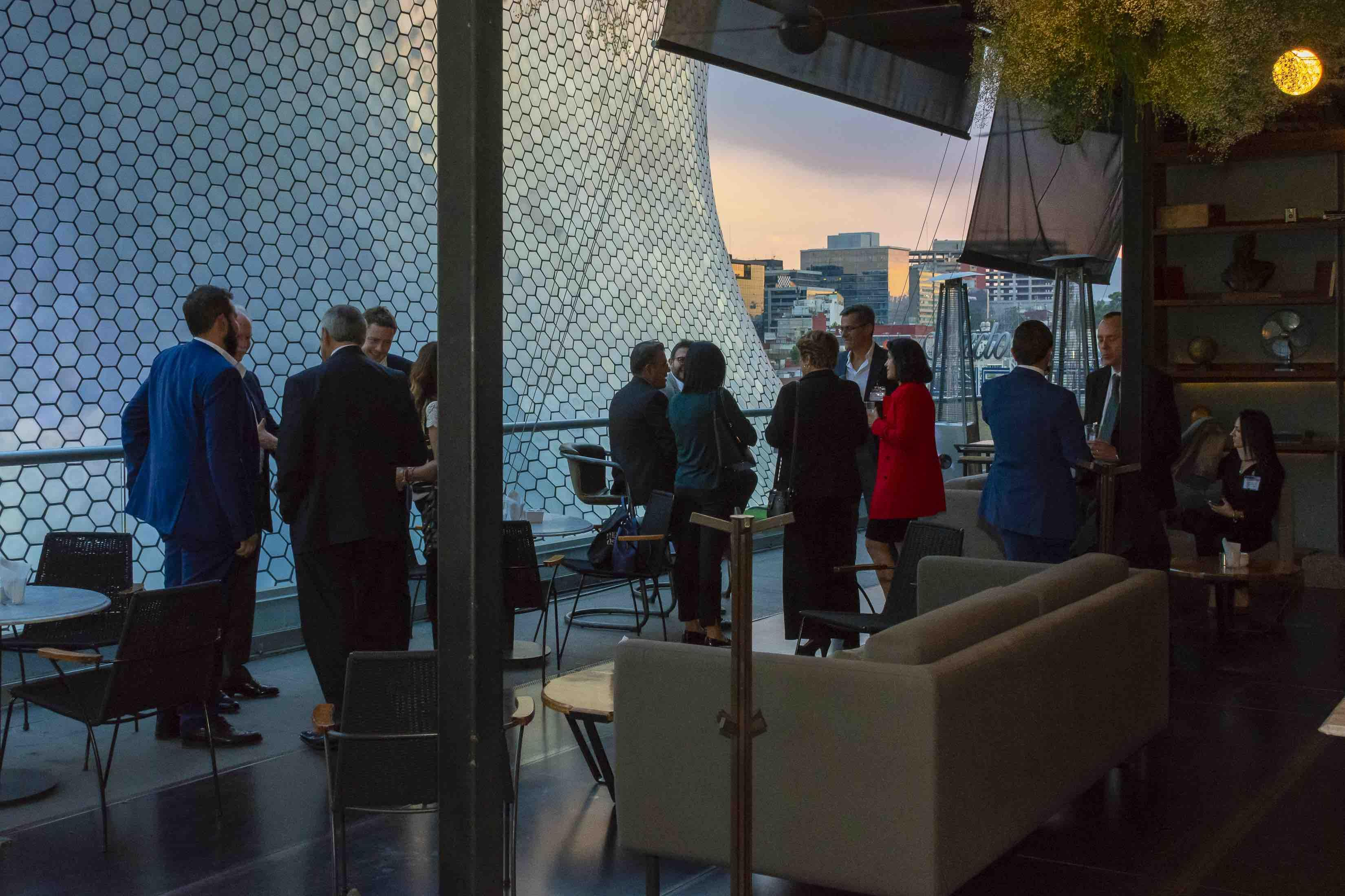 To celebrate the opening of an office in Mexico City, Siem Car Carriers hosted a reception for its customers in Polanco.