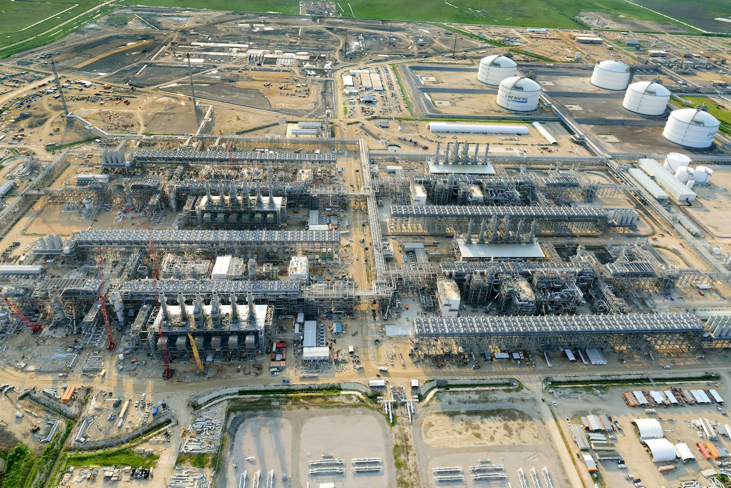 Cheniere Energy Partners is developing a sixth processing unit, Train 6, at its Sabine Pass complex in Louisiana.