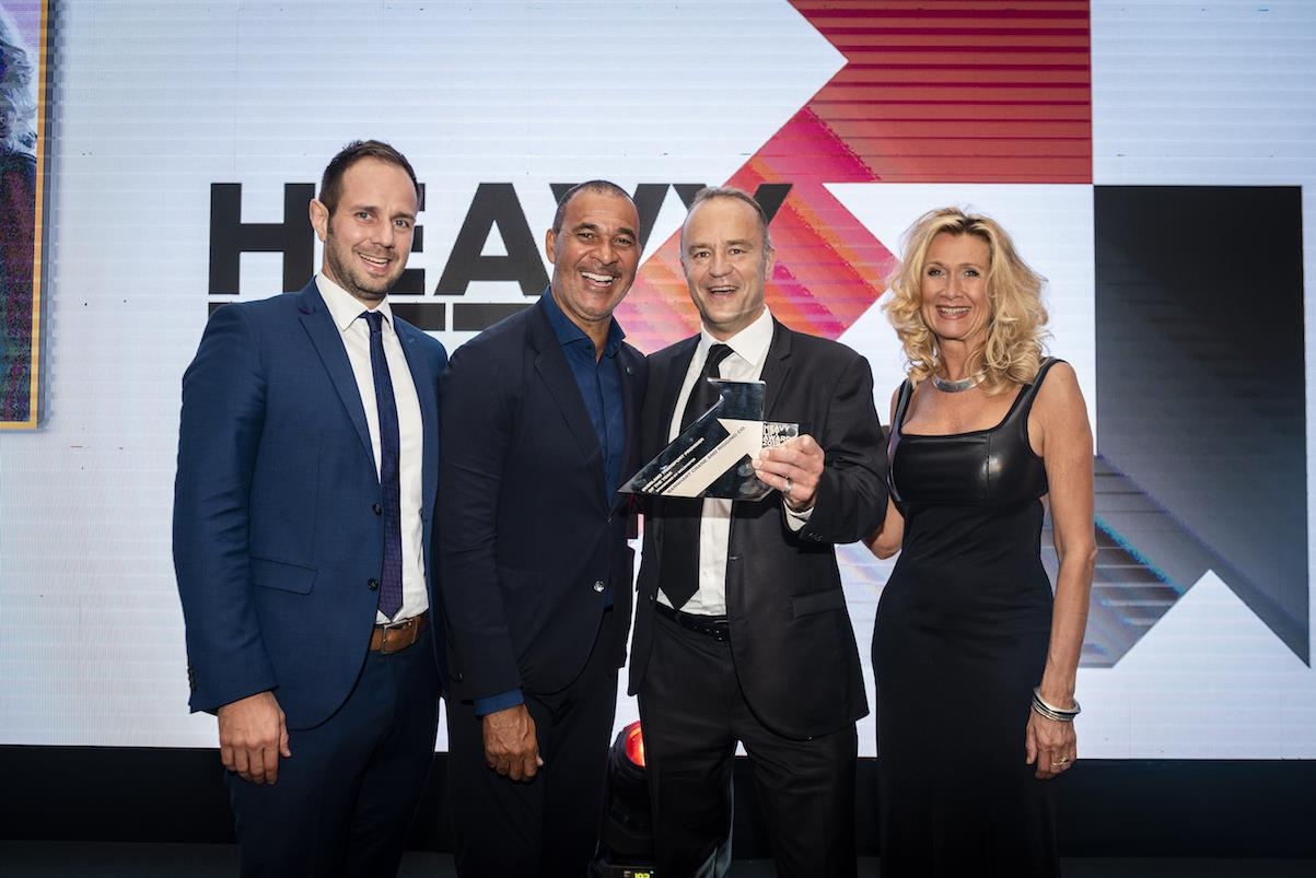 Barnhart's director of European business development, Simon Sumner, collected the Overland Transport Provider of the Year award for the company's impressive delivery of a reformer vessel across North America.