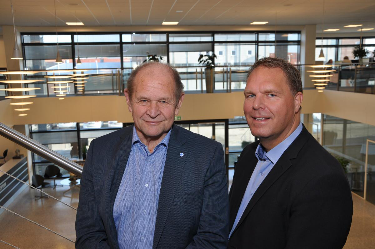 From left to right: Kurt Skov and Søren Nørgaard Thomsen.