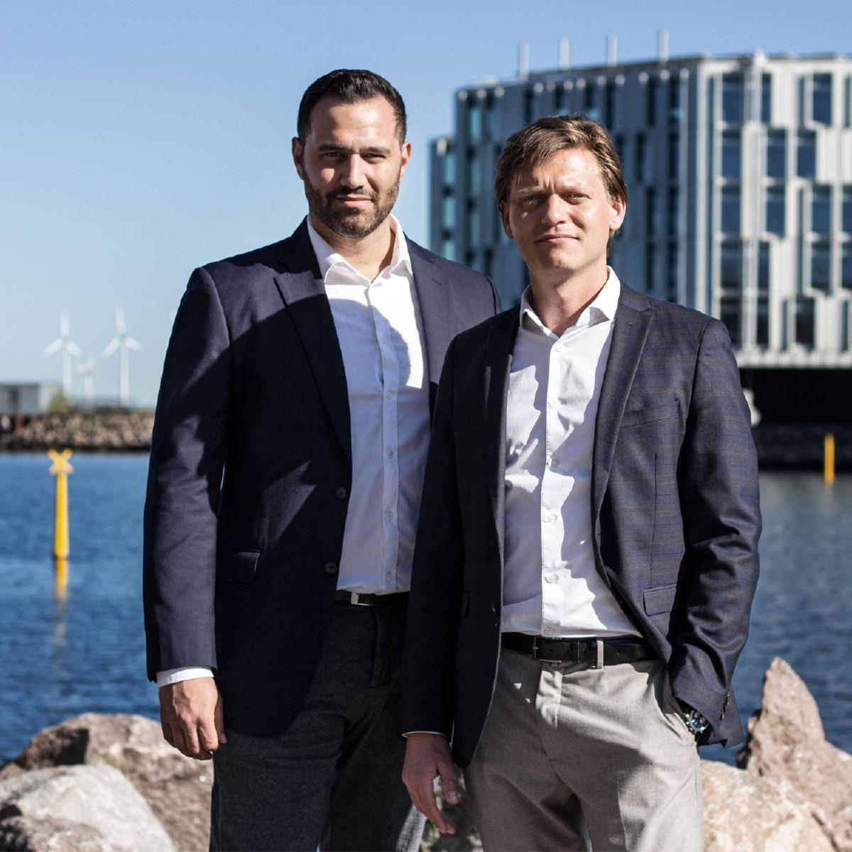 Samir Ferguen and Morten Møller
