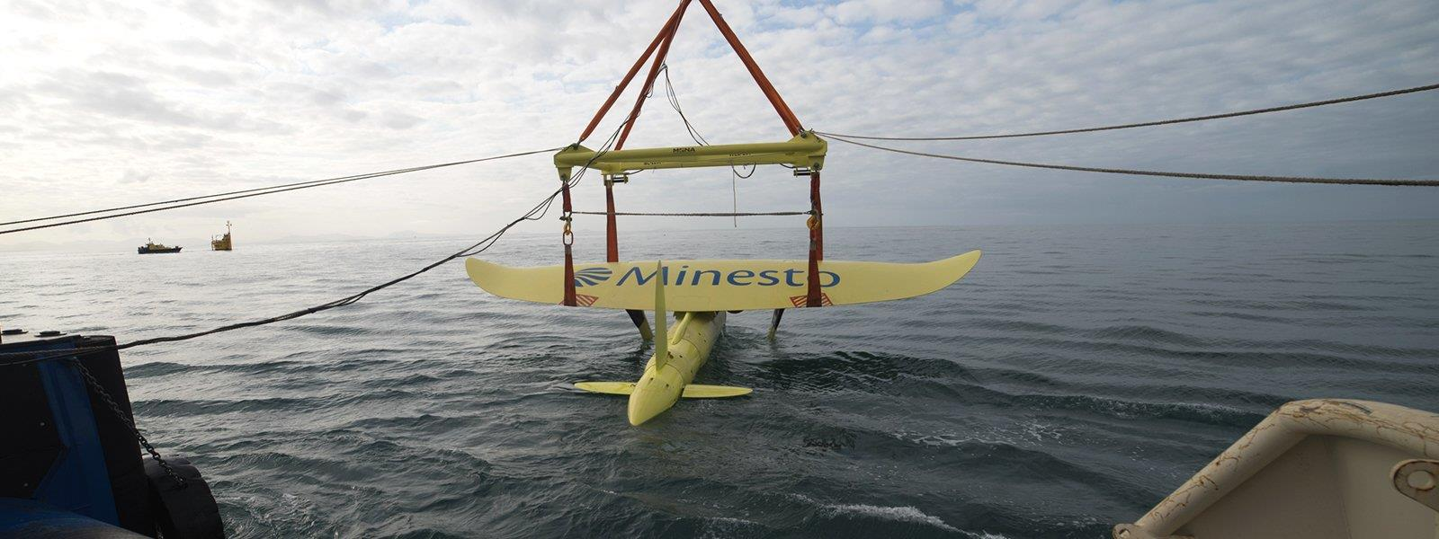 A Minesto DG500 energy kite