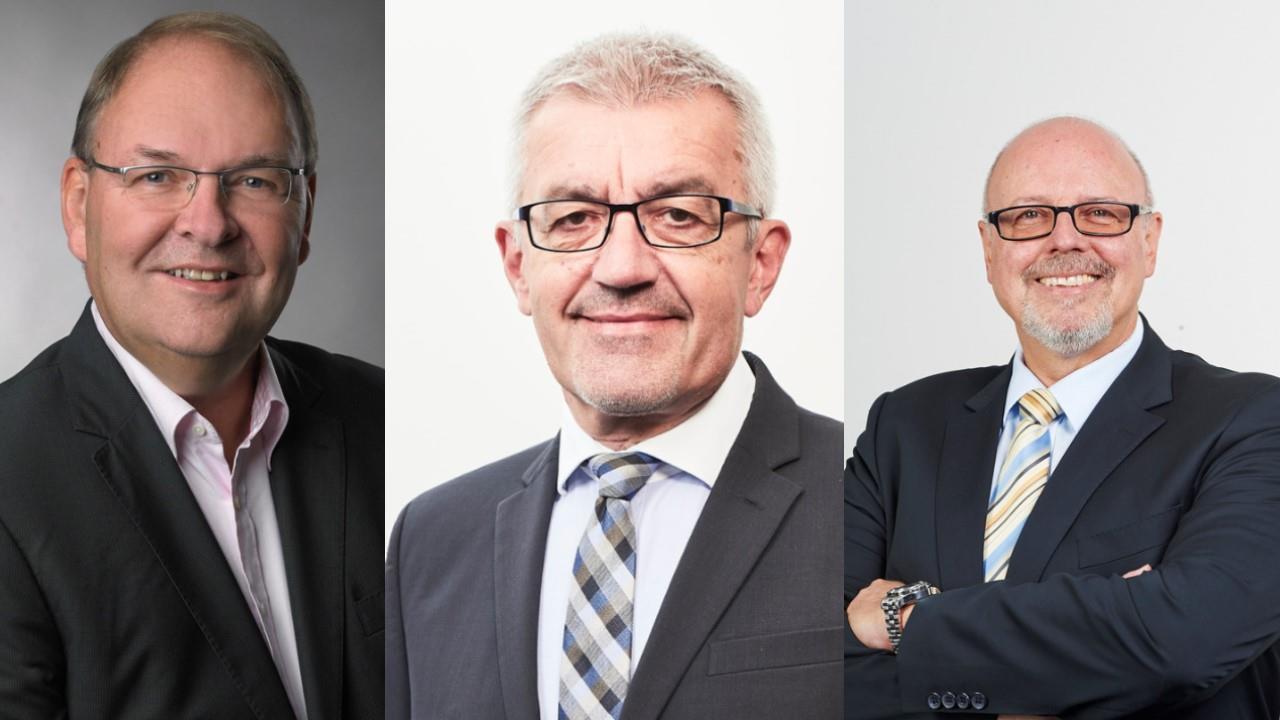 Thomas Schramm, Klaus Kroppel, Manfred Schlumberger